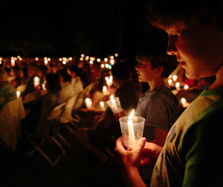 candlelight vigil | Funeral Pre-planning | Overnight Caskets